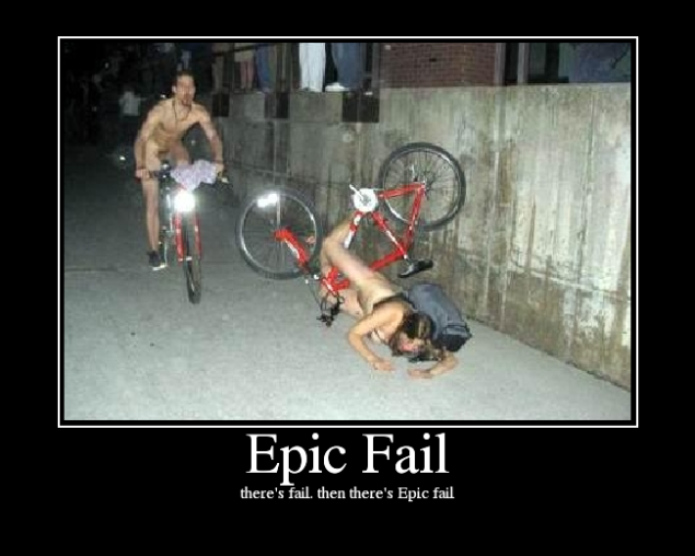 there's fail, then there's Epic fail.