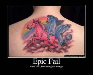"""When """"fail"""" just wasn't good enough"""