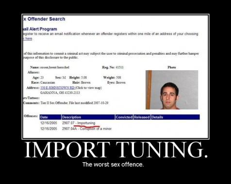 Import Tuning (Motivator)