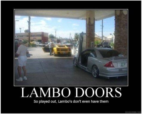 Lambo Doors (Motivator)