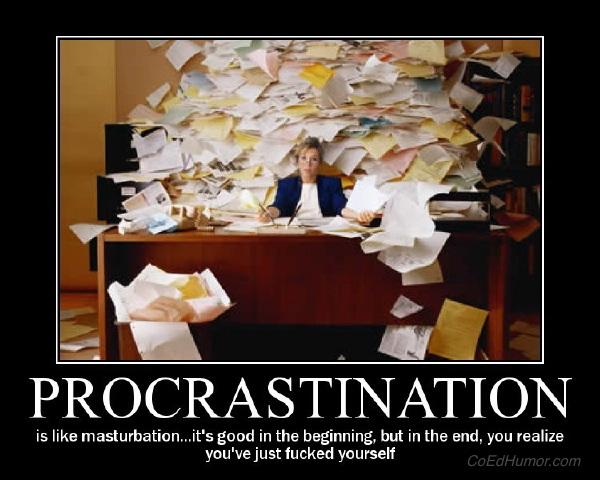 Procrastination (Motivator)