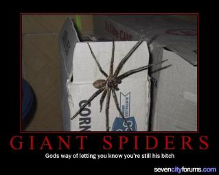 Giant Spiders (Motivator)