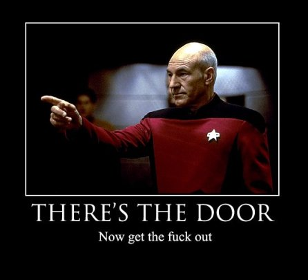 There's the Door - Picard (Motivator)