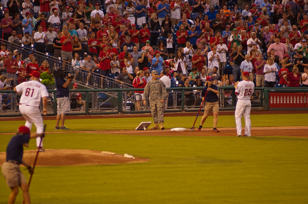 Phillies tribute to our Armed Forces