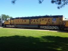 Union Pacific Exhibit, Diesel-Electric Locomotive