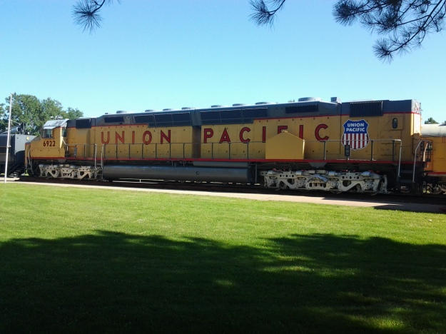 Union Pacific Exhibit, Diesel-Electric Locomotive