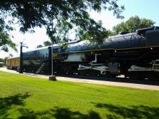Challenger at the UP Exhibit, Cody Park, North Platte, NE
