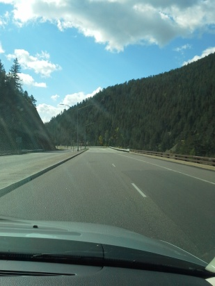 On the road to Hoosier Pass, Blackhawk Colorado