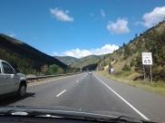 I-70 West, Colorful Colorado