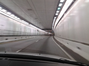 Eisenhower Memorial Tunnel. I-70 West, Colorado