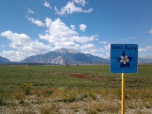 Collegiate Peaks Scenic Byway, Colorado