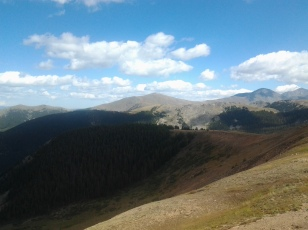 Monarch Pass Tramway - Monarch Pass, Colorado - At the Top!