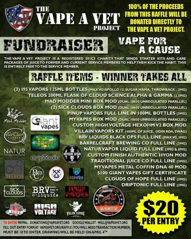 Vape for a Cause!