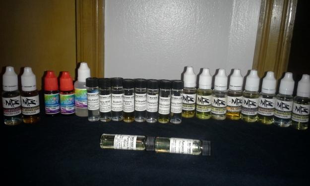 Flavorings, flavorings, flavorings...