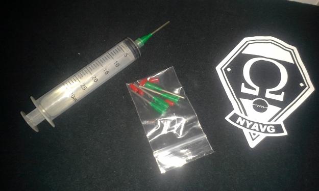 Massive syringe, MyFreedomSmokes